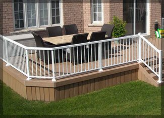 Picket Railing - Windeck Ltd. - Glass Railing Winnipeg, Manitoba