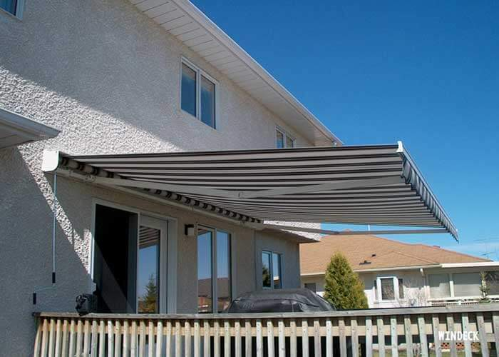 MacDonald Awning -  Windeck Ltd. - Deck Builder Winnipeg, Manitoba