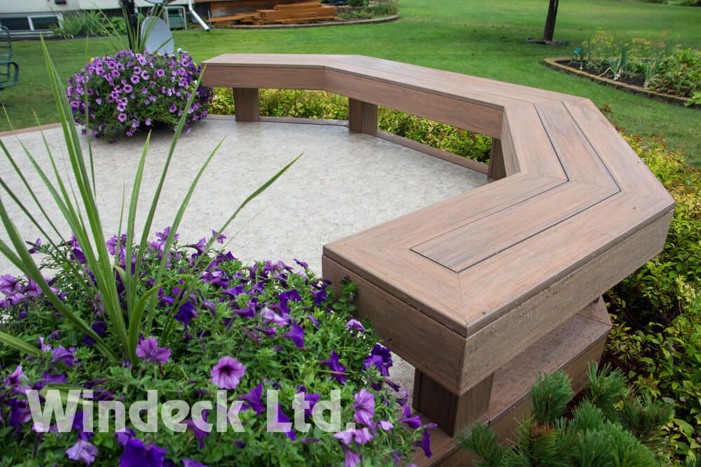 Please Sit On Me - Windeck Ltd. - Composite Decking Winnipeg, Manitoba