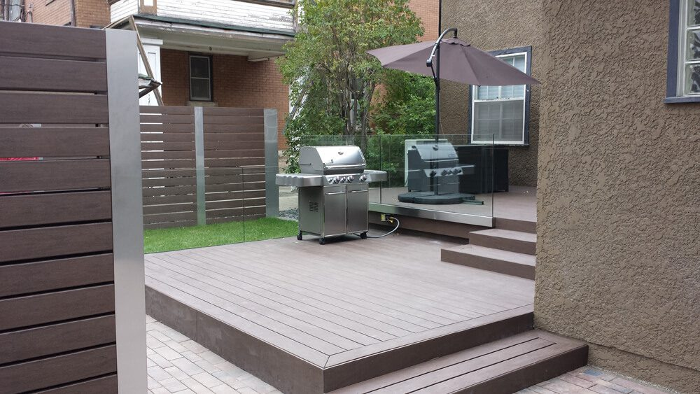 Maintenance Free Paradise - Windeck Ltd. - Deck Builder Winnipeg, Manitoba