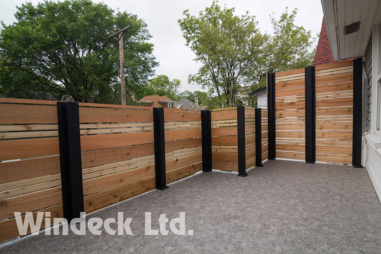Modern & Rustic = Perfection - Windeck Ltd. - Deck Builder Winnipeg, Manitoba
