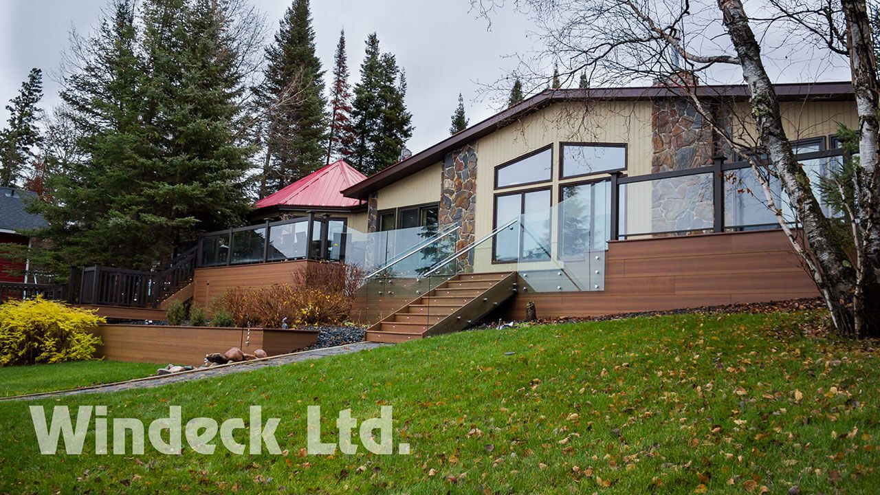 Outdoor Cottage living - Windeck Ltd. - Composite Decking Winnipeg, Manitoba