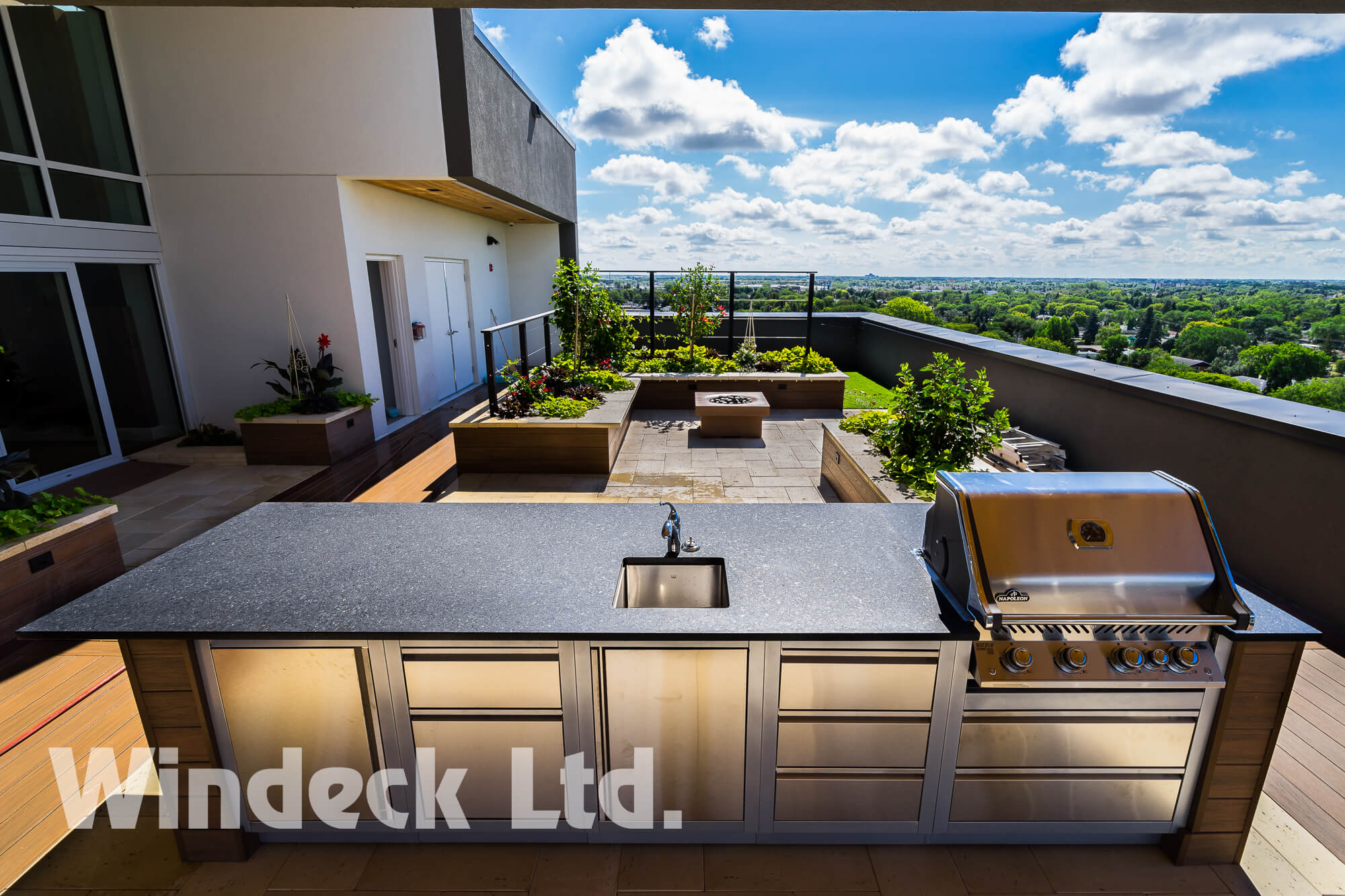 Urban Outdoor Living  - Windeck Ltd. - Composite Decking Winnipeg, Manitoba