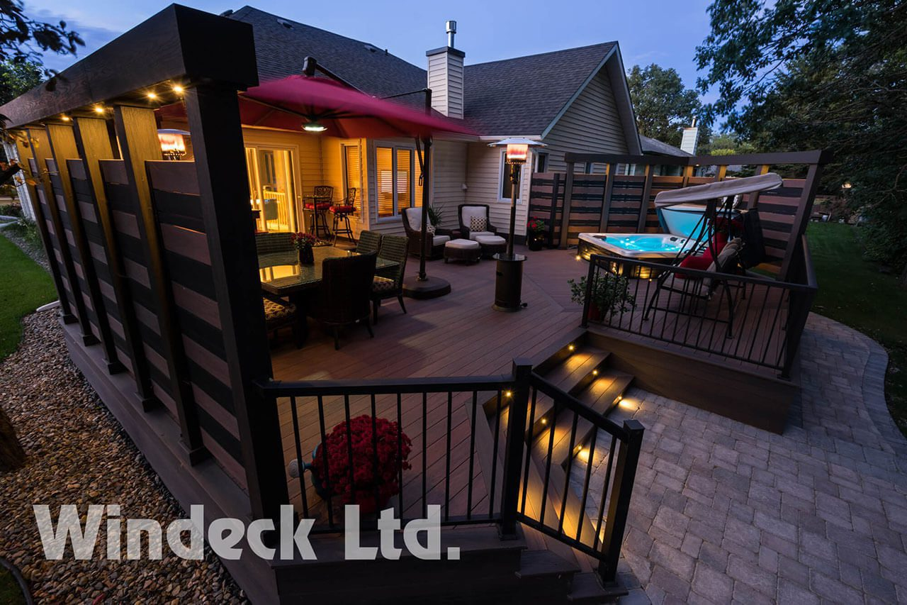 Hot tubs, Bars and Maintenance Free Living  - Windeck Ltd. - Composite Decking Winnipeg, Manitoba