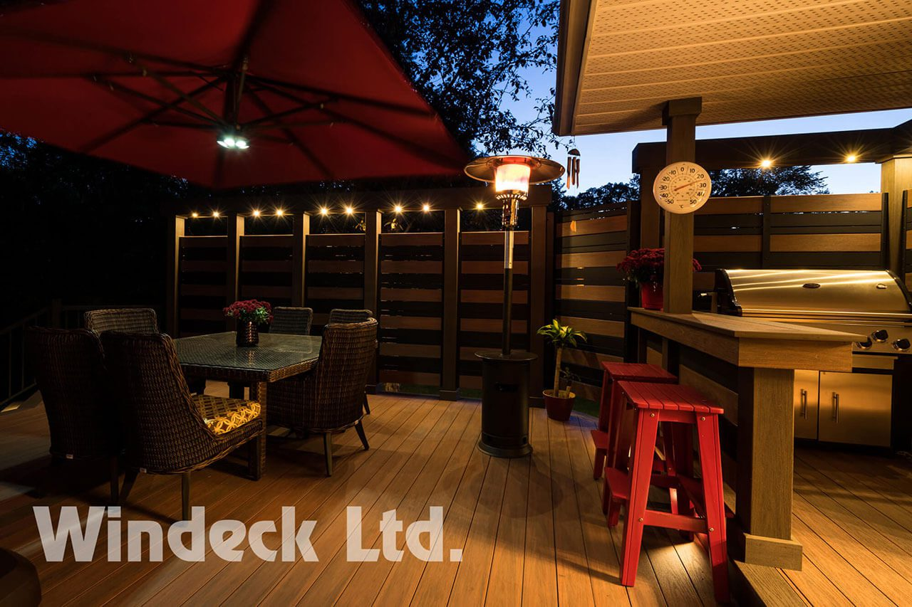 Private Lounging  - Windeck Ltd. - Deck Builder Winnipeg, Manitoba