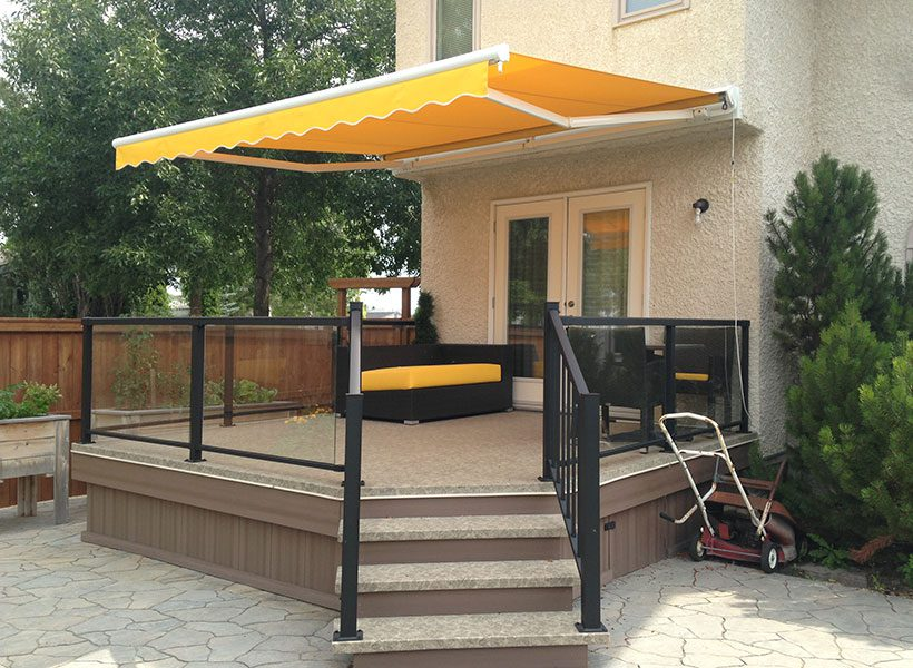 MacDonald Awning and Shade Products - Winnipeg Deck Builders - Deck Building Winnipeg - Maintenance Free Decks - Windeck Ltd.