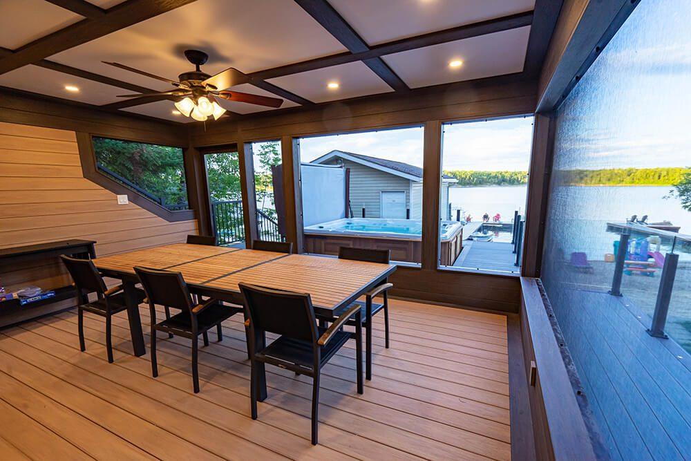 'Elevated' deck game - Windeck Ltd. - Deck Builder Winnipeg, Manitoba